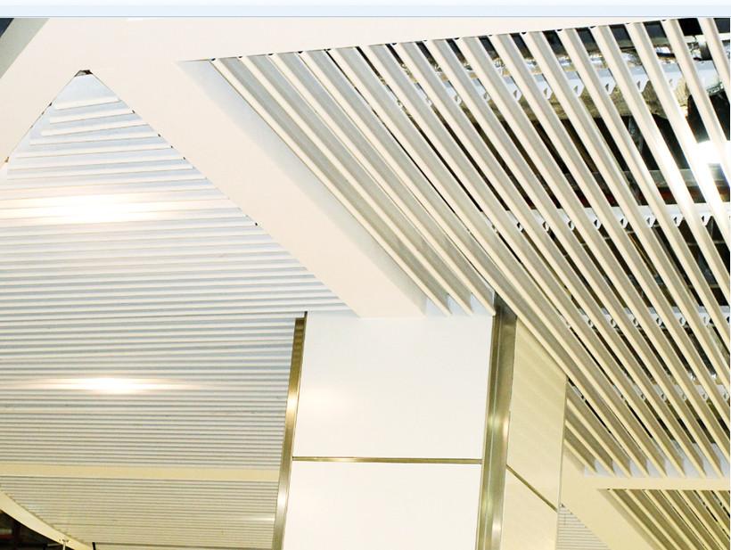 Wholesale baffle blade metal ceiling panels Carlos Brand