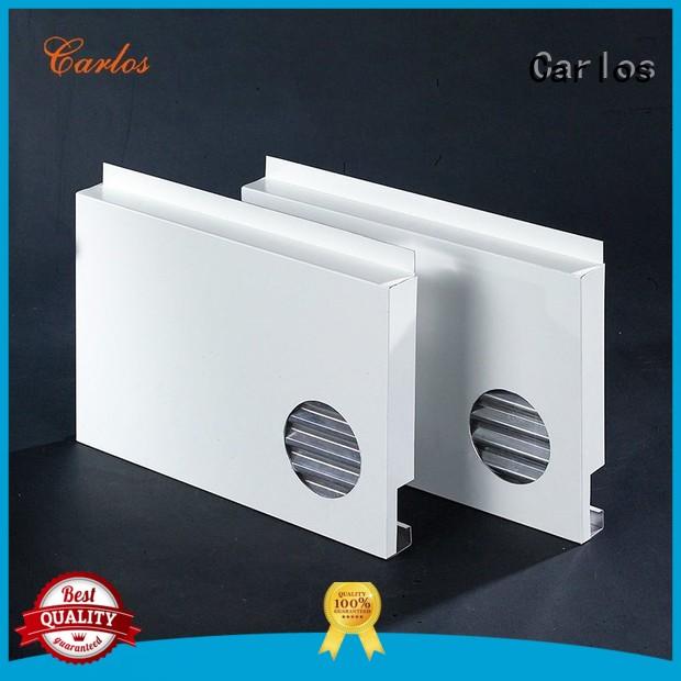 hollow aluminum aluminum panels circular Carlos Brand company