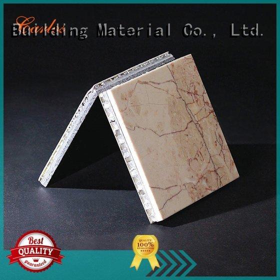 round wavy Carlos Brand aluminum honeycomb panels for sale