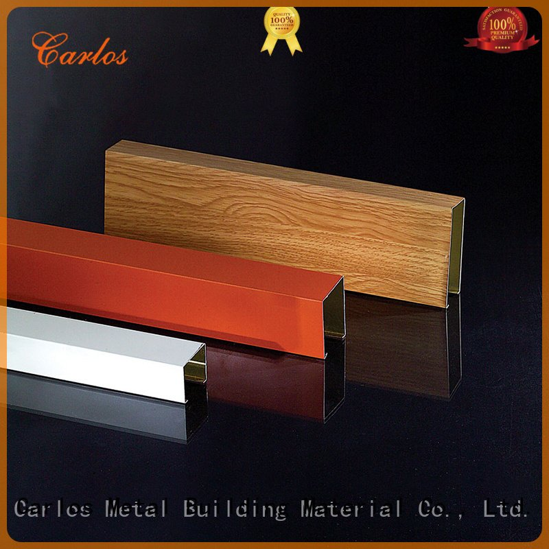 series through Carlos metal ceiling panels