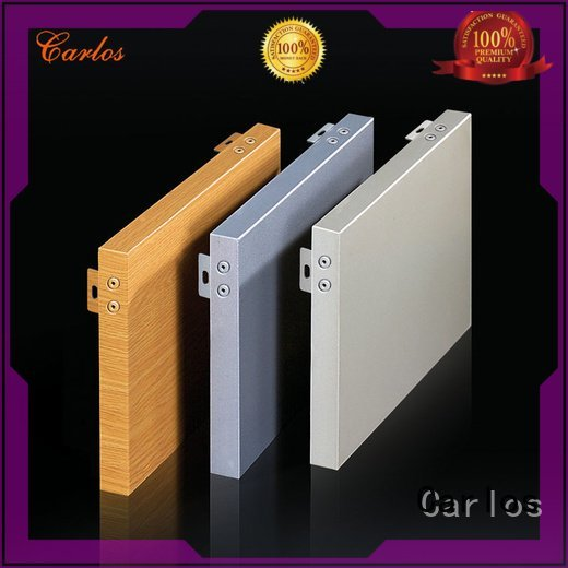 square bag aluminum panels wavy Carlos