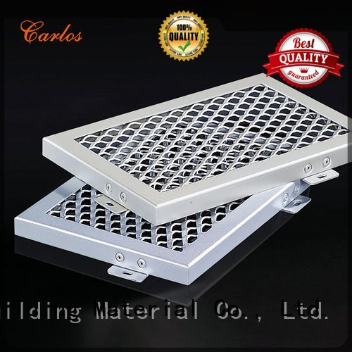 series grille Carlos perforated metal ceiling tiles suppliers