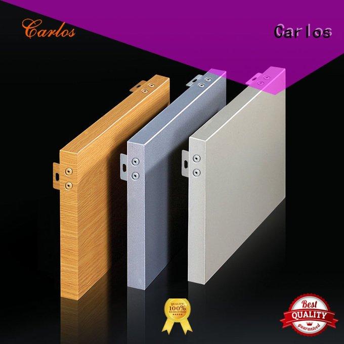 hollow wavy Carlos aluminum panels