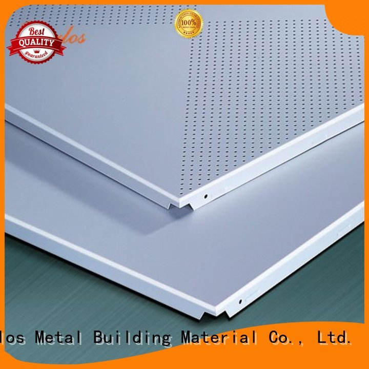 square buckle metal ceiling panels series Carlos company