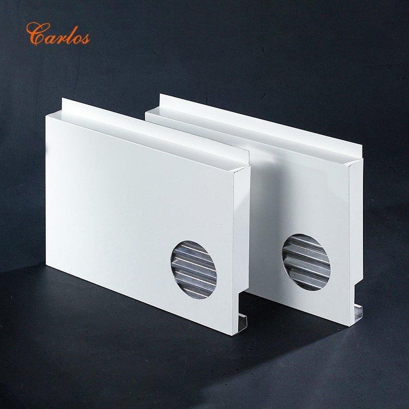 Aluminum corrugated board