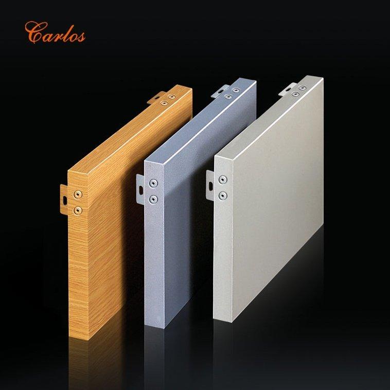 Carlos Flat seamless aluminum veneer Aluminum Panel image7