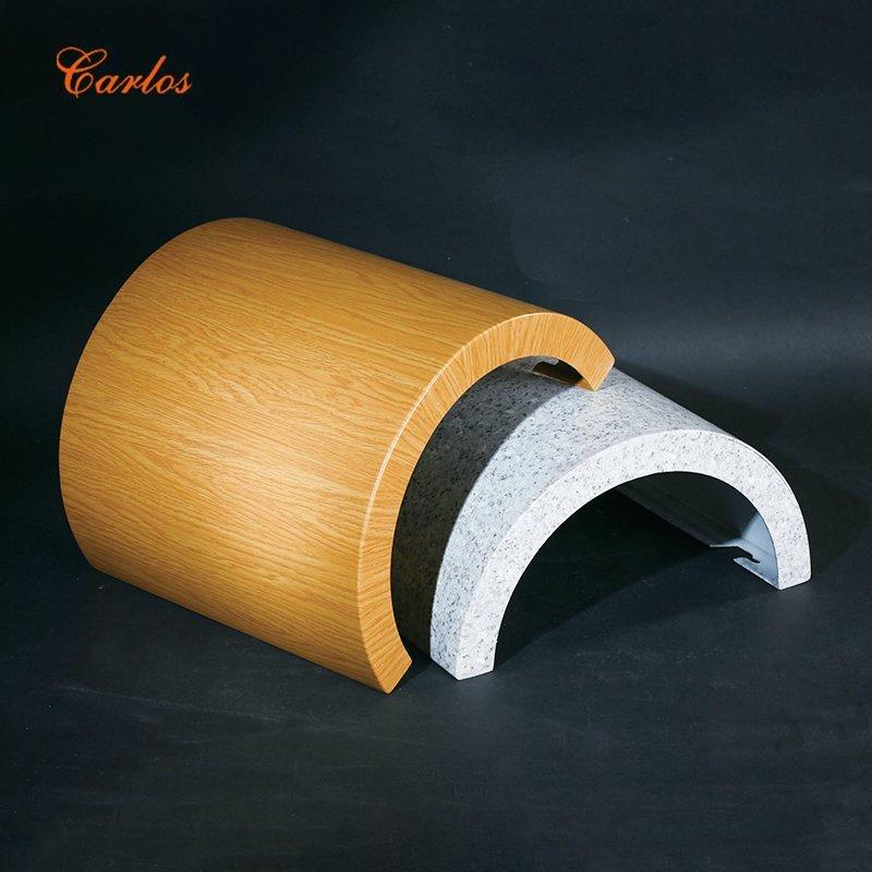 Round seamless package column
