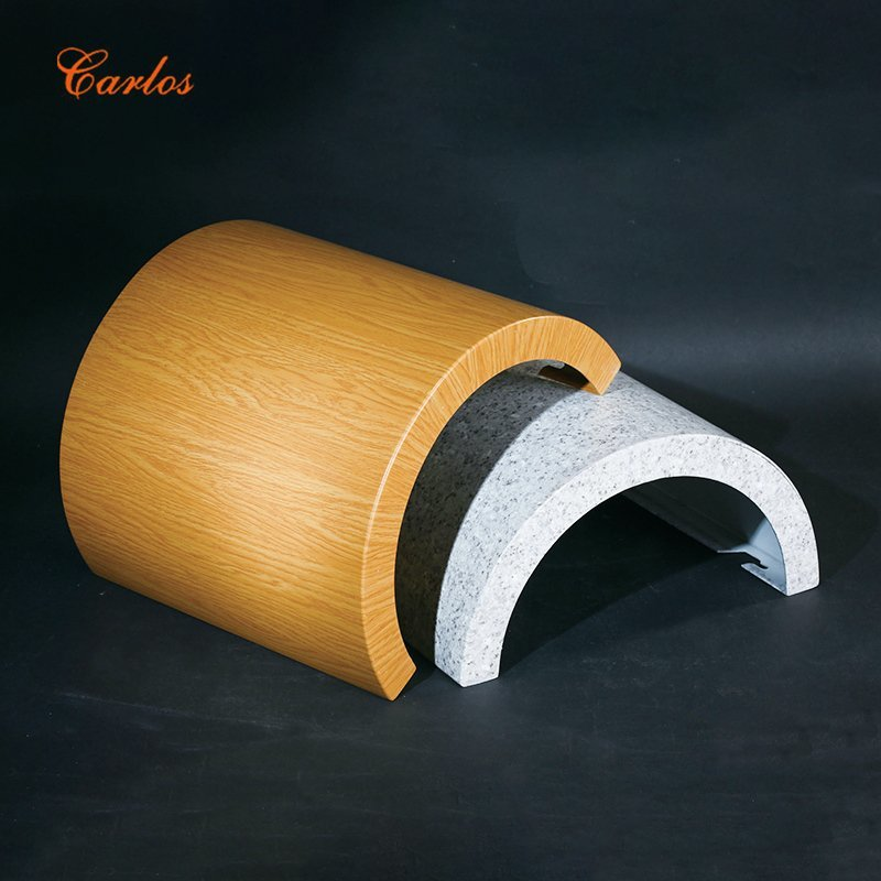 Round seamless package column