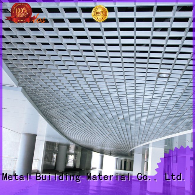 Carlos Brand blade metal square perforated metal ceiling tiles suppliers