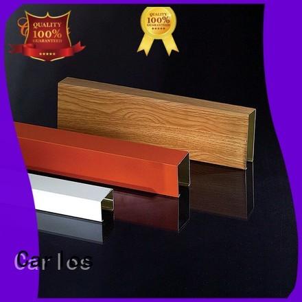 Quality Carlos Brand baffle blade metal ceiling panels