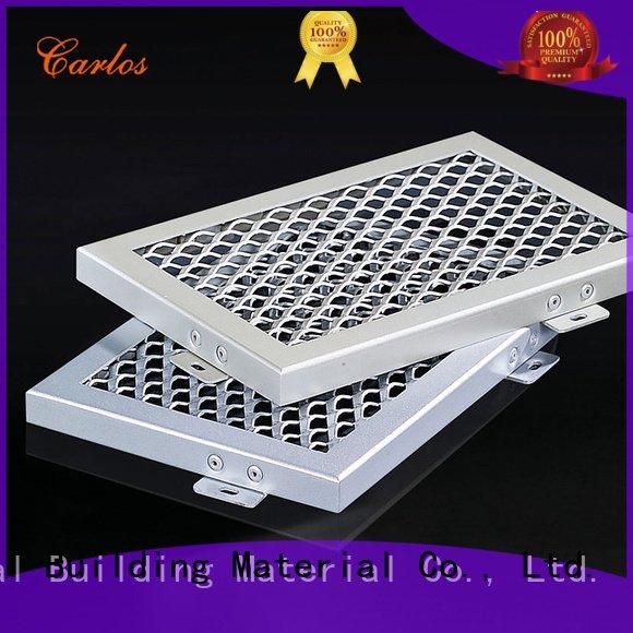 through metal ceiling panelsCarlos Brand