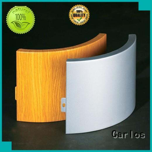 Custom round square aluminum panels Carlos art