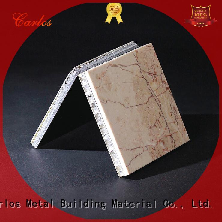 Custom package single aluminum honeycomb sheet Carlos hollow