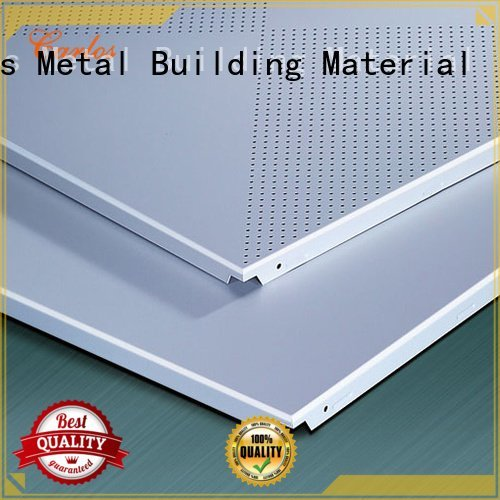 Hot perforated metal ceiling tiles suppliers side metal ceilings Carlos Brand