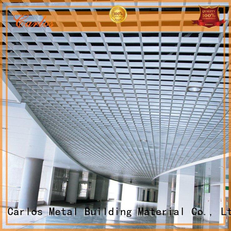 Hot perforated metal ceiling tiles suppliers metal Carlos Brand