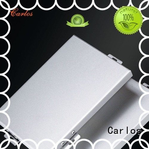 Quality Carlos Brand aluminum wall panels exterior veneer flatseam