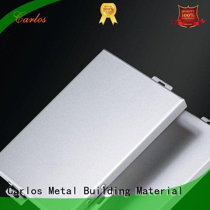 aluminum wall panels exterior single Carlos Brand
