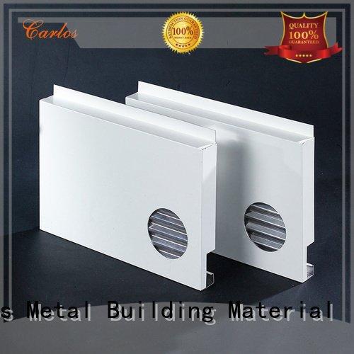 Carlos Brand panel modeling metal aluminum panels