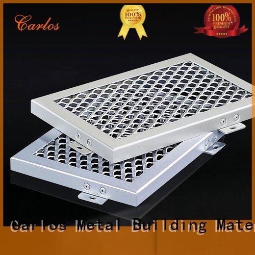 netting square metal ceiling panels Carlos Brand