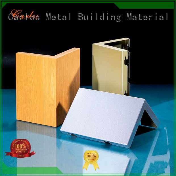 Carlos panel seamless aluminum panels wavy hollow