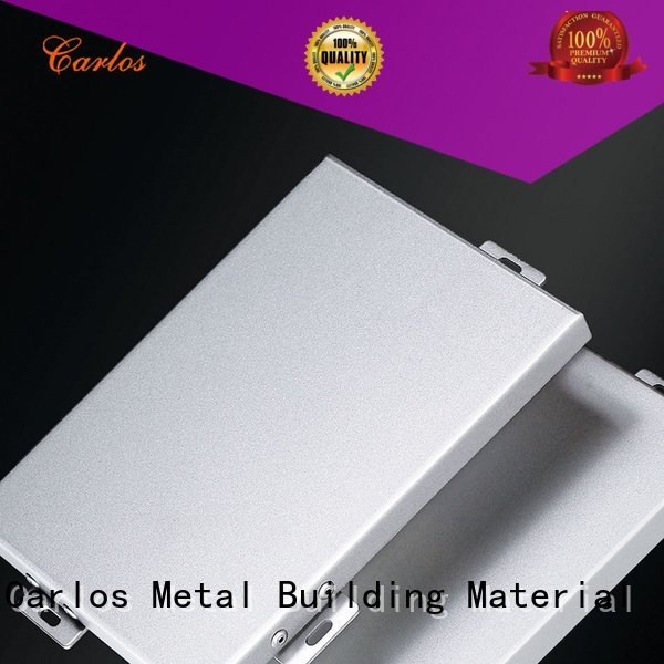 Carlos hollow aluminum panels hyperbolic package