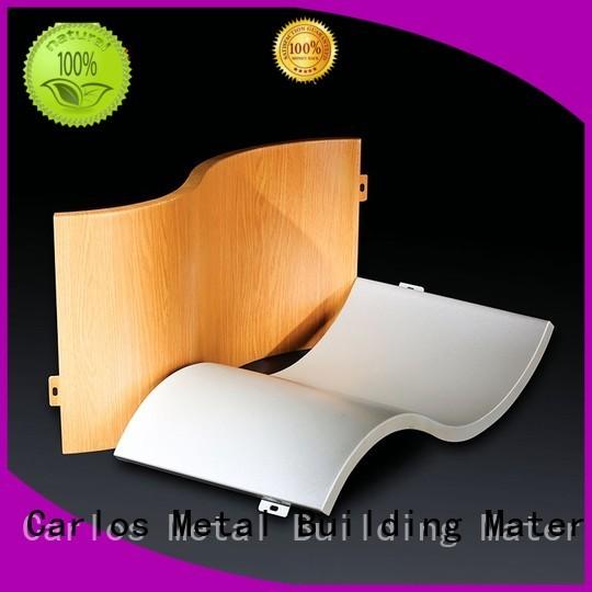 aluminum wall panels exterior board circular column Carlos Brand