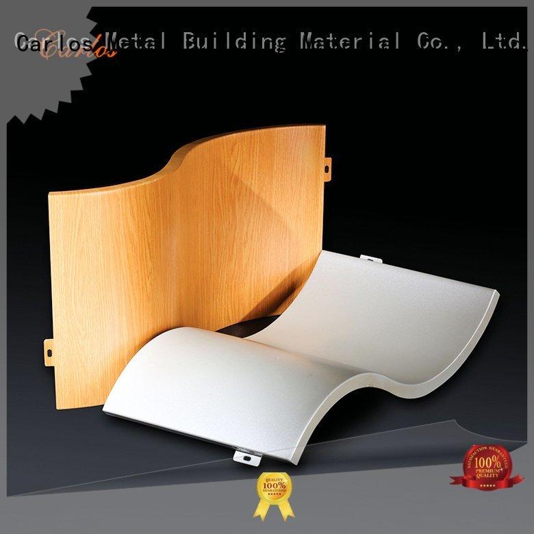 Custom aluminum panels bag hyperbolic corrugated Carlos