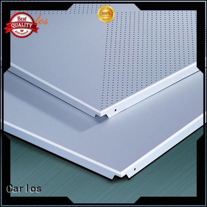 perforated metal ceiling tiles suppliers ceilings baffle Carlos Brand company