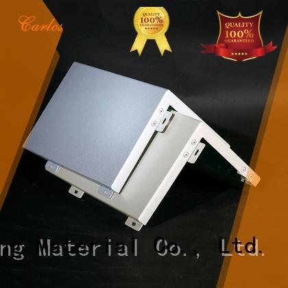 single modeling aluminum panels round Carlos Brand company