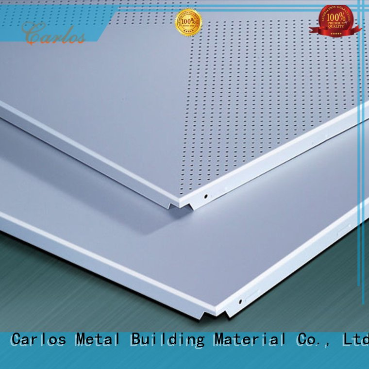 side netting ceiling metal Carlos perforated metal ceiling tiles suppliers