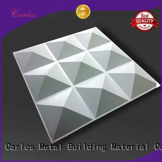 Carlos Brand bag seamless wavy aluminum panels