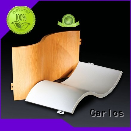 aluminum wall panels exterior seamless wavy aluminum panels sewing Carlos Brand