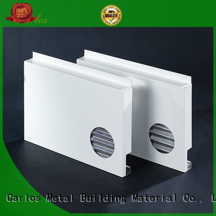 aluminum wall panels exterior seamless sewing hollow column Bulk Buy