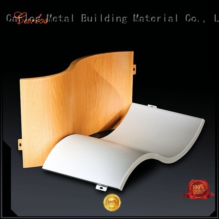 Quality Carlos Brand aluminum wall panels exterior board