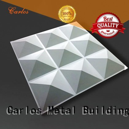 Hot aluminum wall panels exterior column flat single Carlos Brand