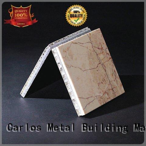 panel art Carlos aluminum honeycomb sheet