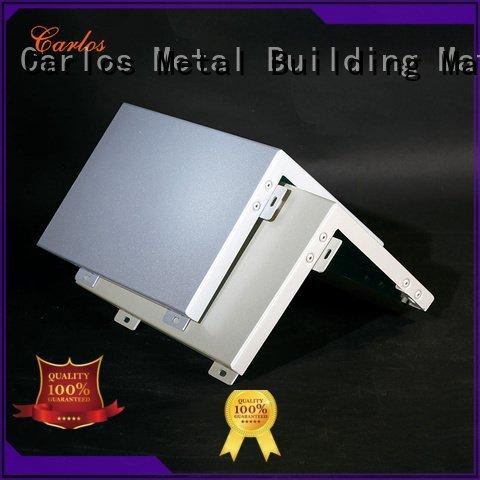 aluminum square Wholesale square aluminum panels Carlos Brand veneer single