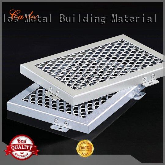 Carlos Brand blade perforated metal ceiling tiles suppliers