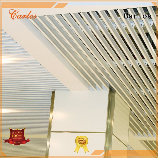 Hot perforated metal ceiling tiles suppliers netting metal ceiling Carlos Brand