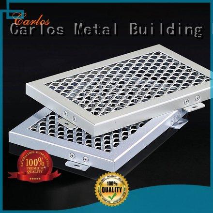 Carlos Brand through ceiling series metal ceiling panels grille