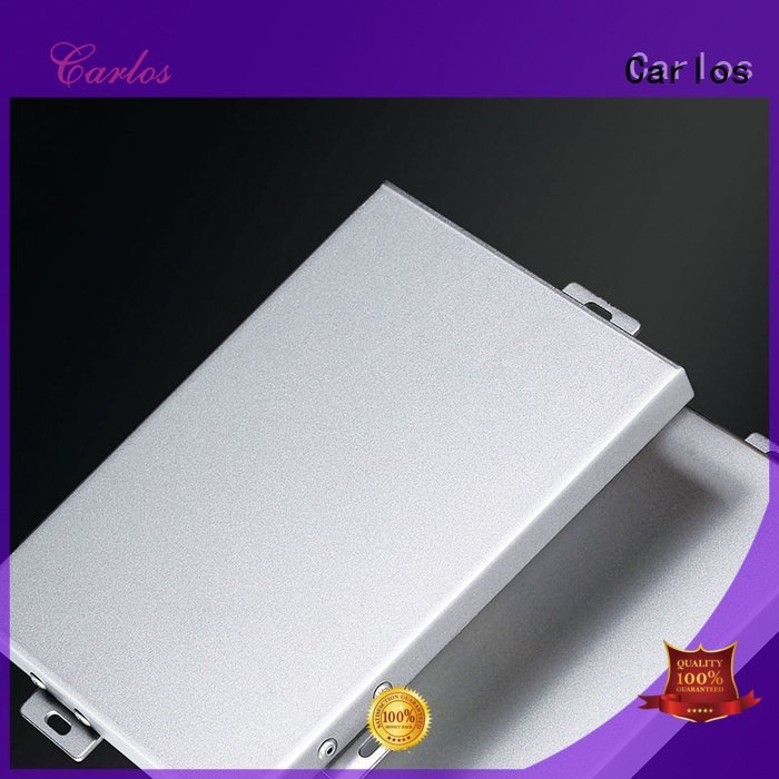 Carlos metal aluminum panels package