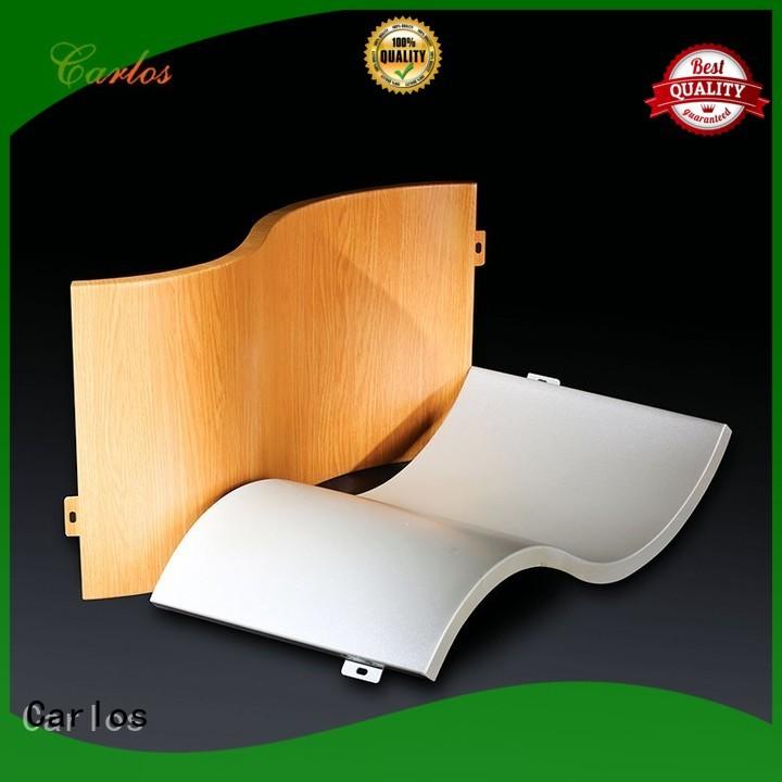 aluminum wall panels exterior round aluminum panels Carlos Brand