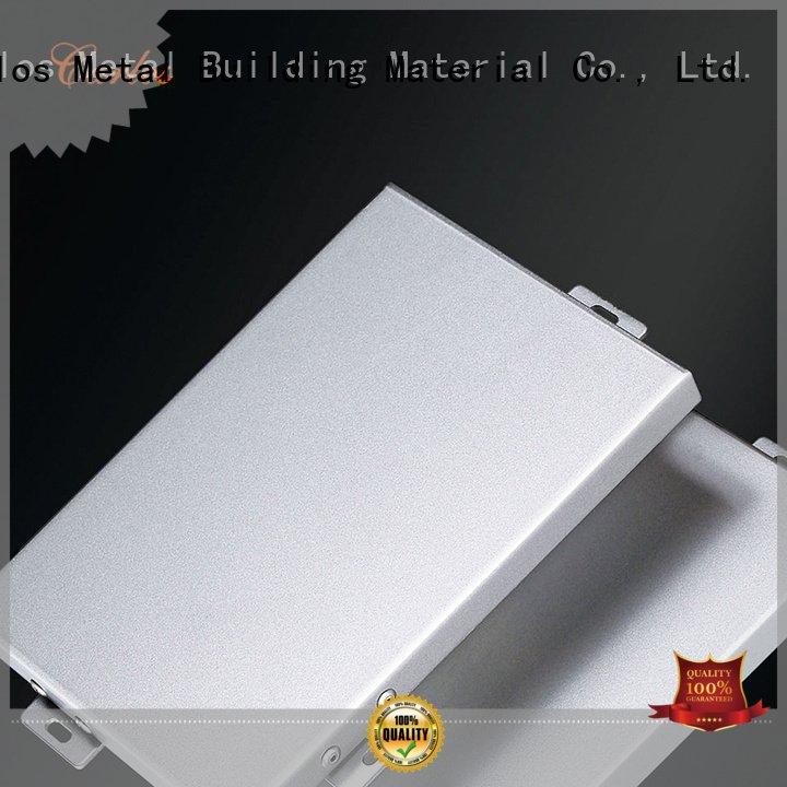 Carlos Brand veneer aluminum wall panels exterior flat panel