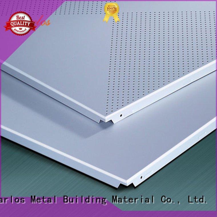 Square Ceiling Series Carlos Metal Building Material