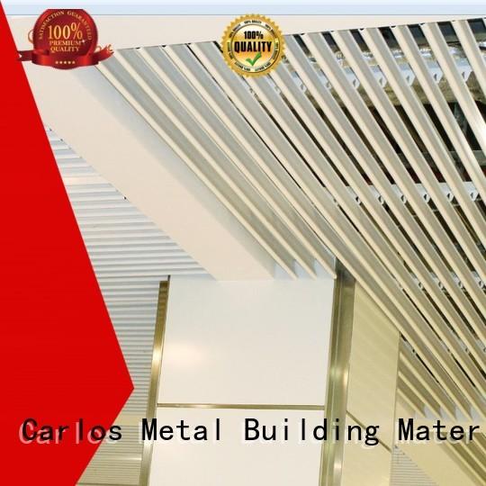 baffle metal blade metal ceiling panels ceiling Carlos Brand