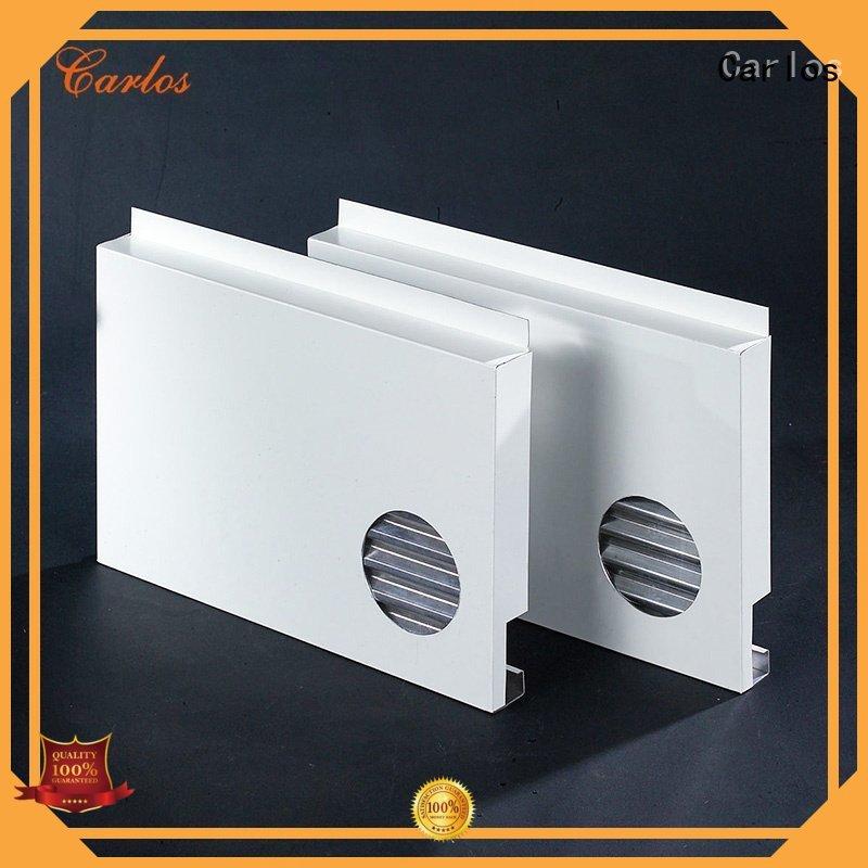 Carlos Brand modeling panel aluminum panels hollow factory