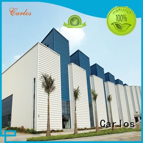 columns metal single Carlos Brand aluminum wall panels exterior factory