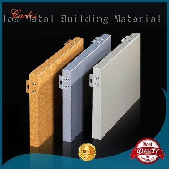 panel flatseam flat Carlos aluminum panels
