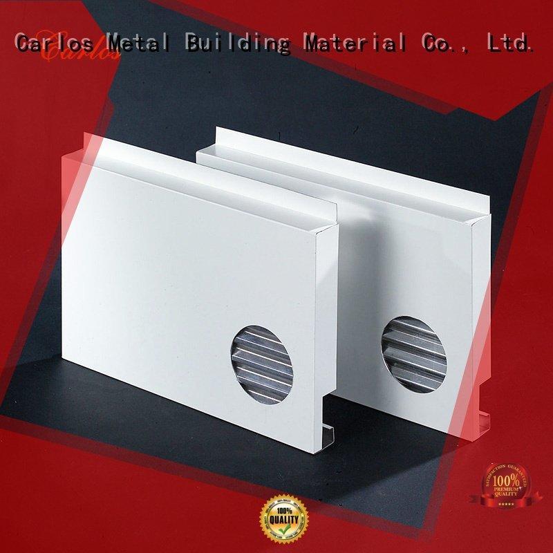 OEM aluminum wall panels exterior seamless square columns aluminum panels