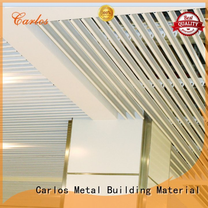 Carlos ceilings through grille perforated metal ceiling tiles suppliers series